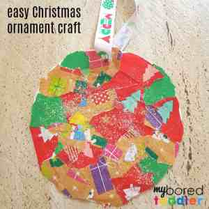 easy christmas ornament feature