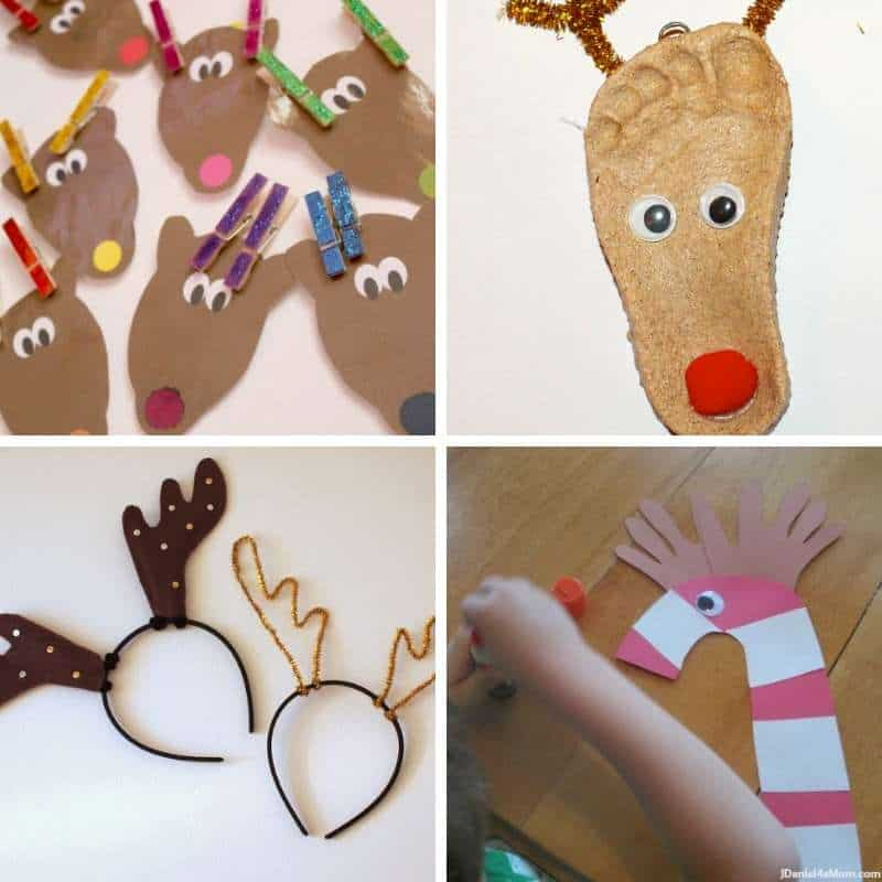 Reindeer Crafts and Activities for Toddlers