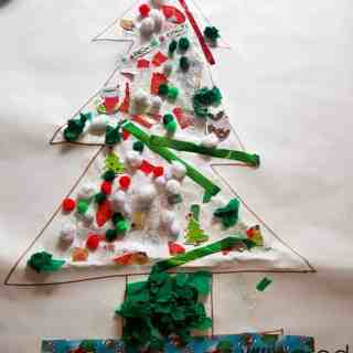 Christmas tree collage finished 1