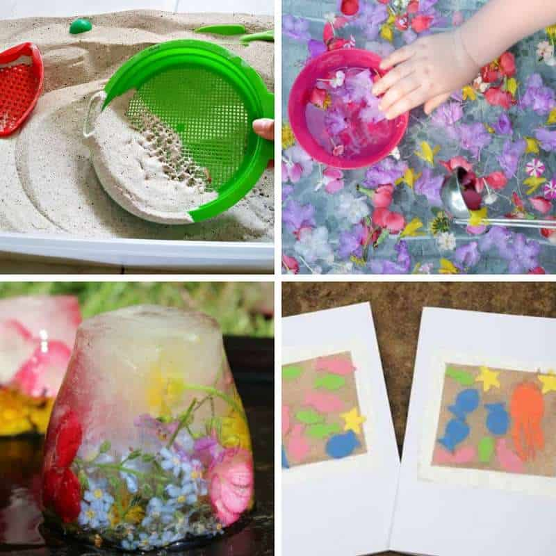summer sensory play ideas
