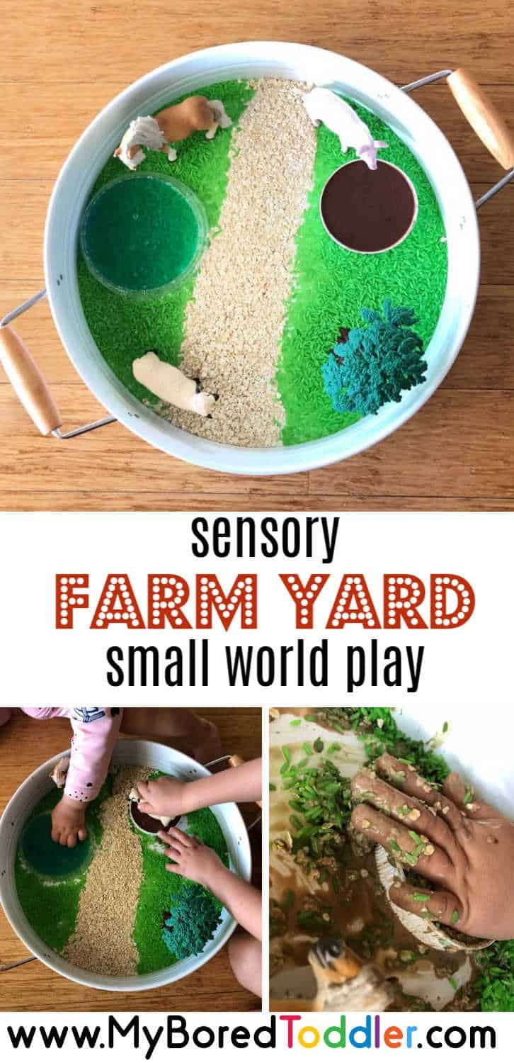 Sensory Farm Yard Small World Play