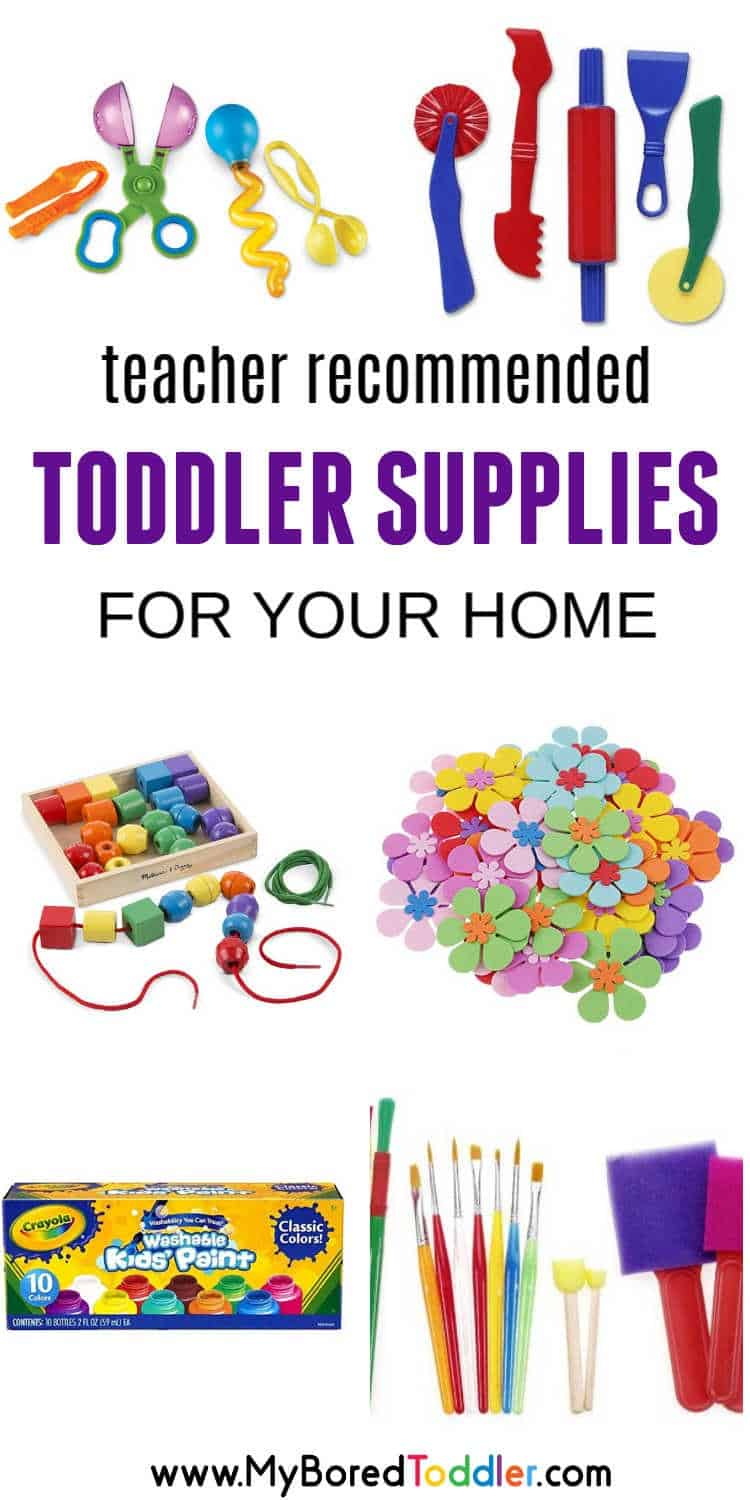TEACHER RECOMMENDED TODDLERS SUPPLIES FOR YOUR HOME PINTEREST