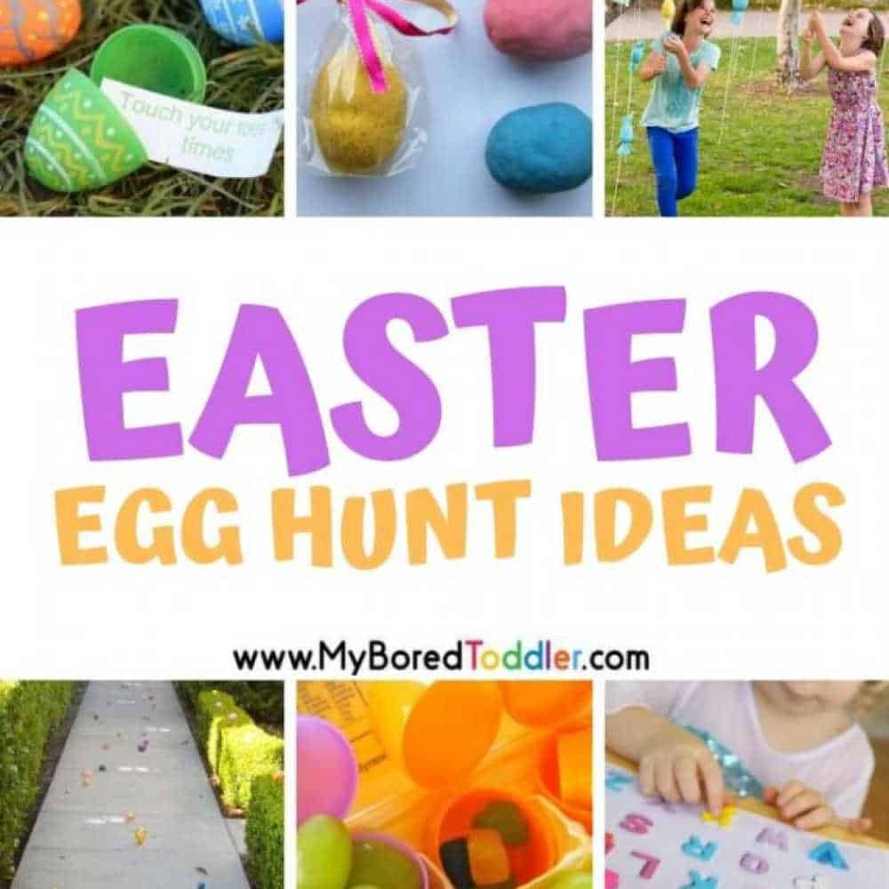 Easter Egg Hunt Ideas for Toddlers