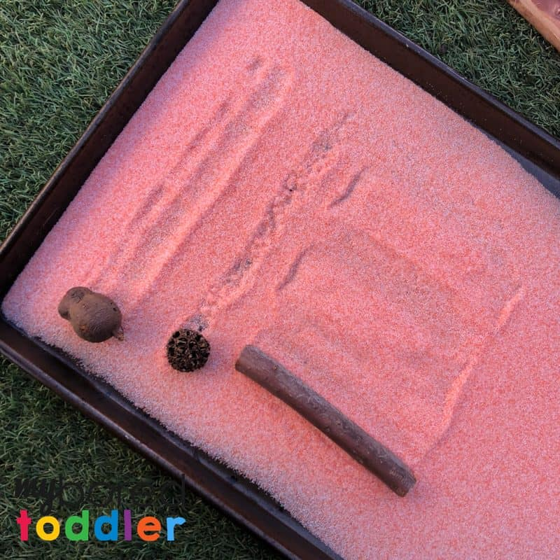salt drawing sensory play for toddlers and preschoolers