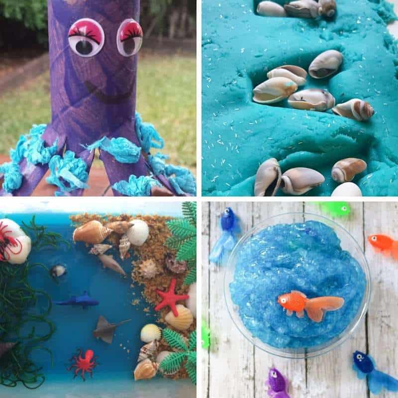 ocean themed crafts and activities for toddlers