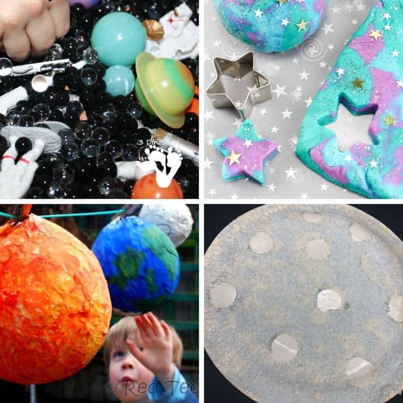 space activities for toddlers