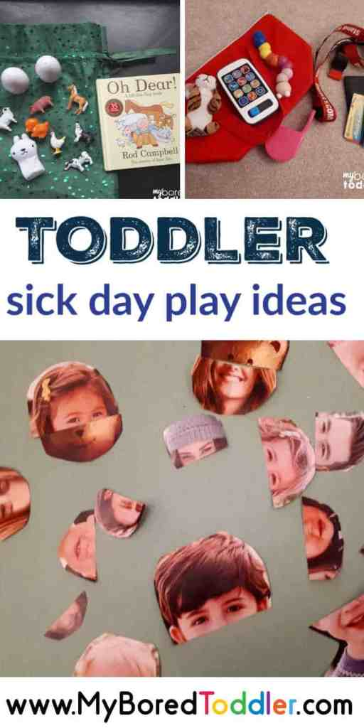 toddler activity ideas for when you are sick