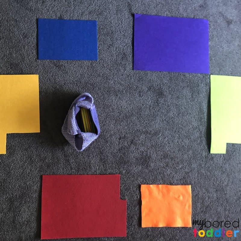 color matching activity for toddlers a way to learn color recognition