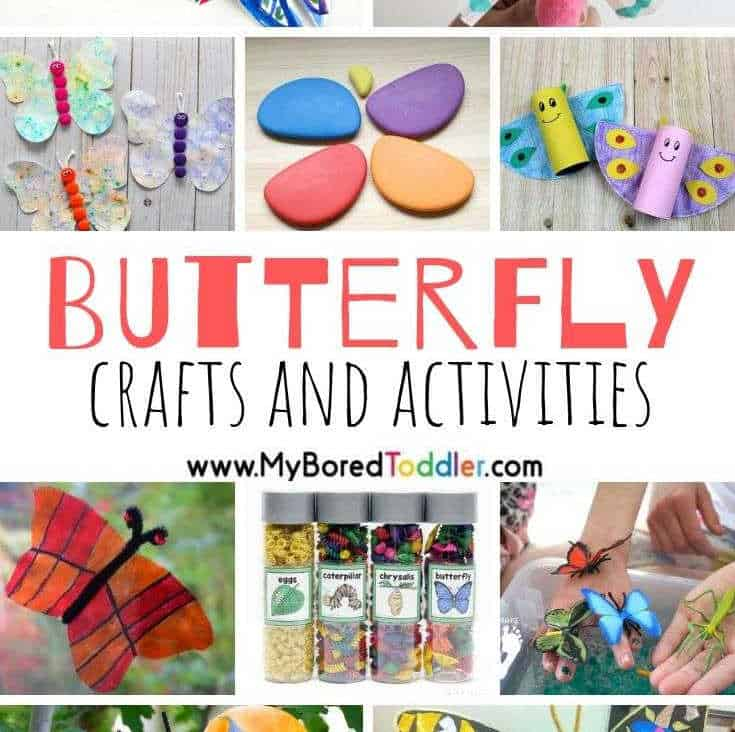 Butterfly Crafts and Activities for Toddlers