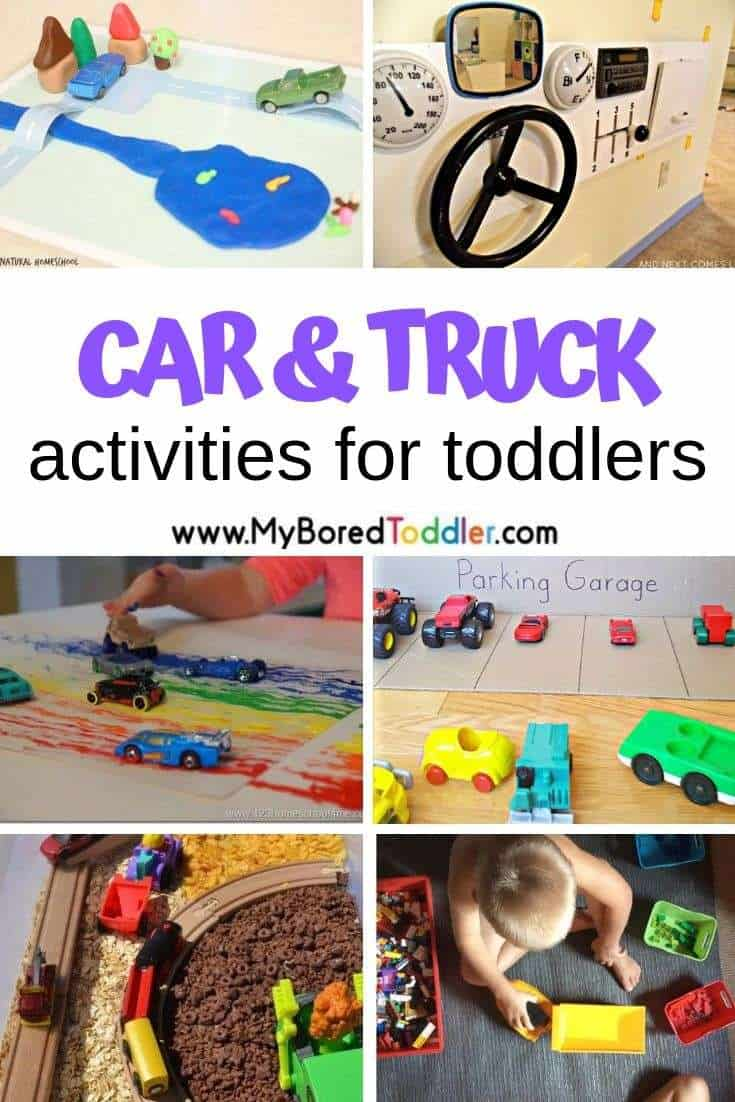 Car and Truck Activities for Toddlers