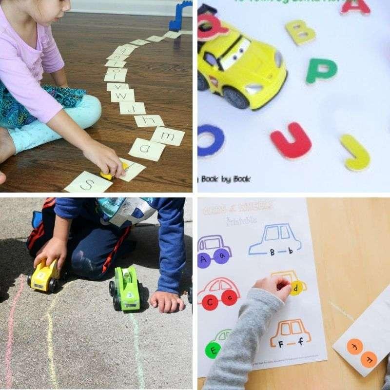 car activities for preschoolers