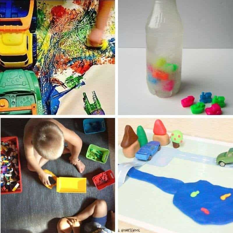 truck activities for toddlers