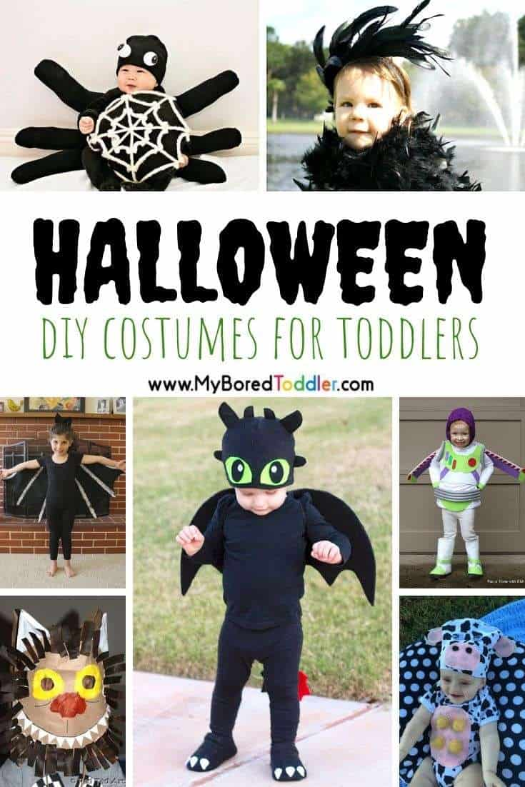 DIY Halloween Costumes for Toddlers - My Bored Toddler