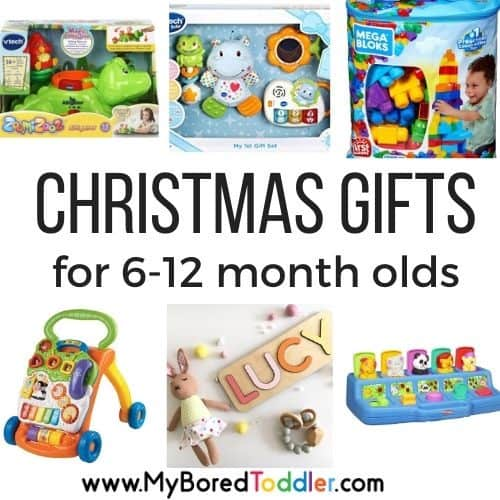 Christmas Gift Ideas for Babies 6 -12 months old