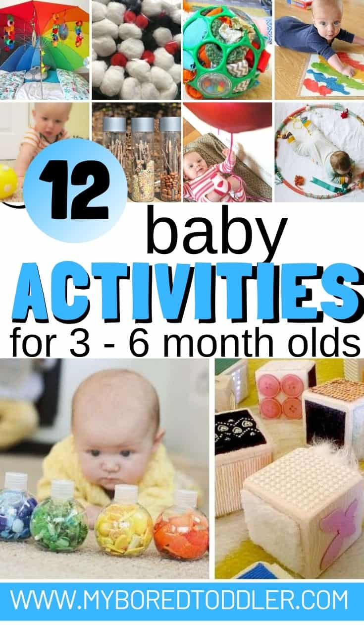 12 baby activities for 3 - 6 month olds