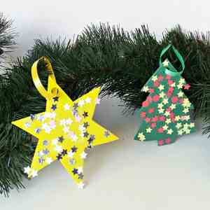 Easy Christmas Ornament for Toddlers To Make
