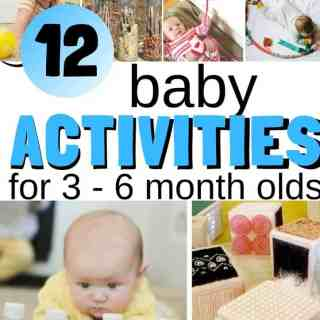 baby activities for 3 - 6 month olds square