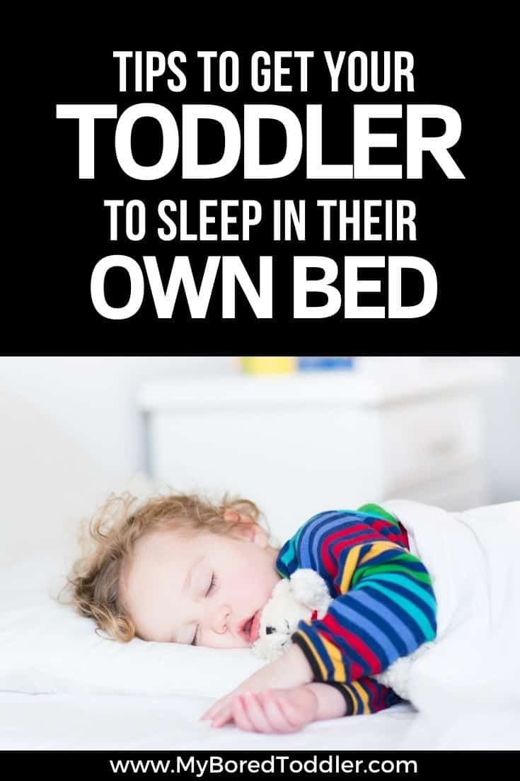 Tips to get your toddler to sleep in their own bed - My ...