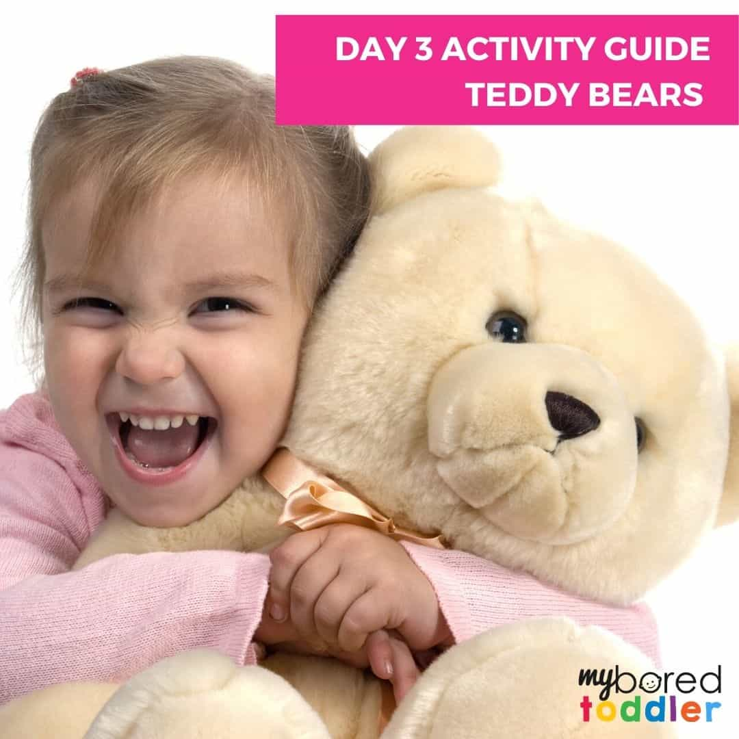indoor activity plan for toddlers teddy bears