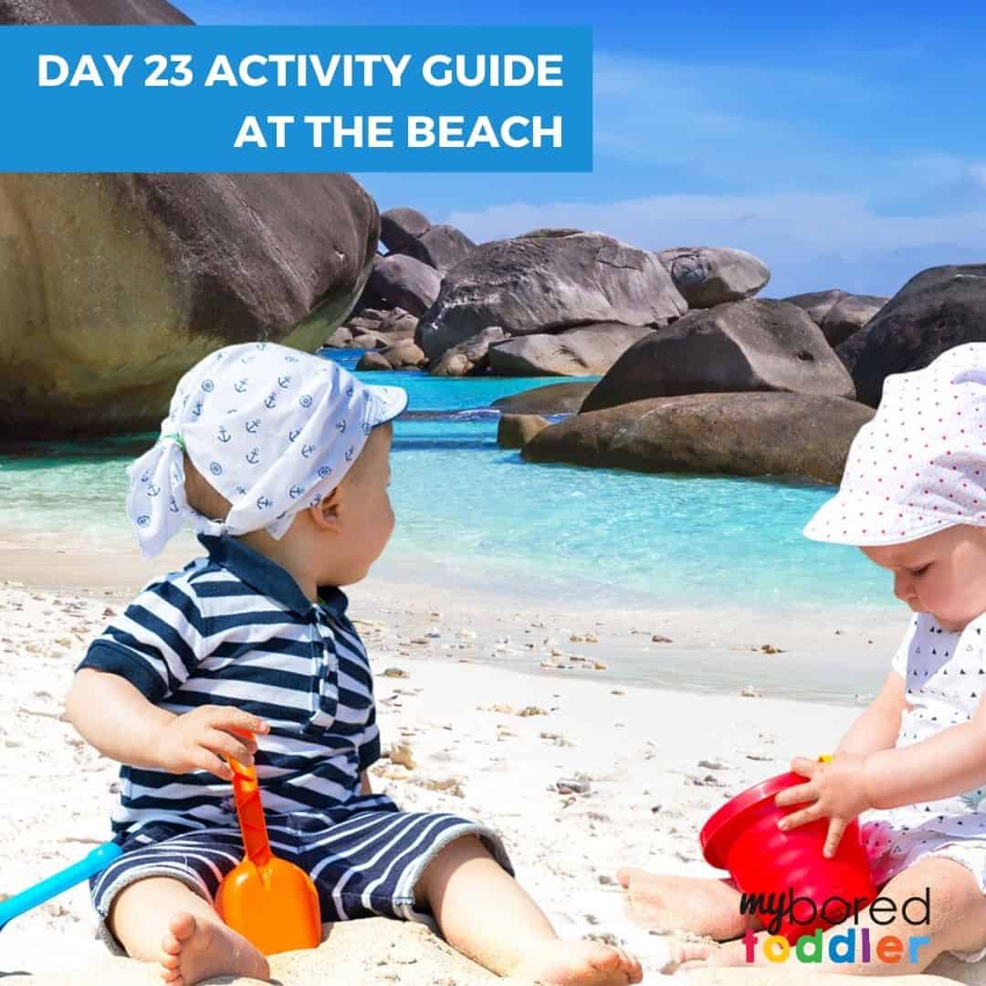 Day 23 indoor activity guide at the beach