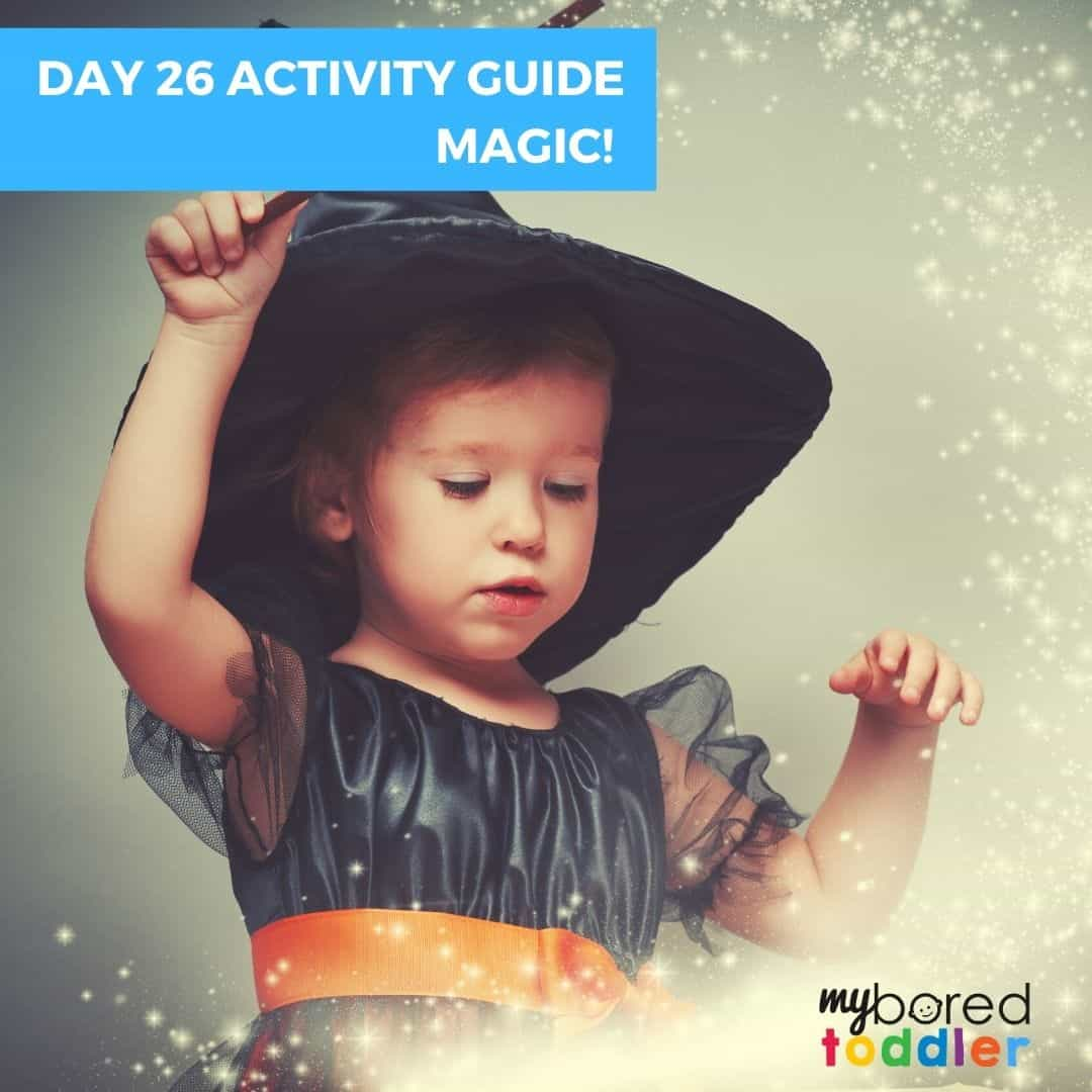 My Bored Toddler Day 26 Indoor Activity Guide Magic