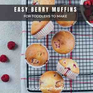 EASY BERRY MUFFINS FOR TODDLERS TO MAKE FEATURE