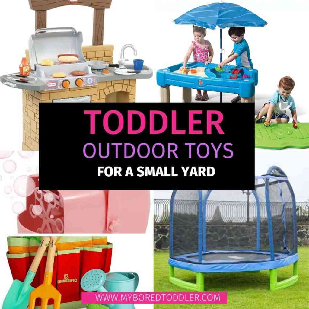 10 Outdoor Toys for Toddlers To Use At Home