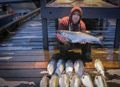 coho salmon Knudsen Cove