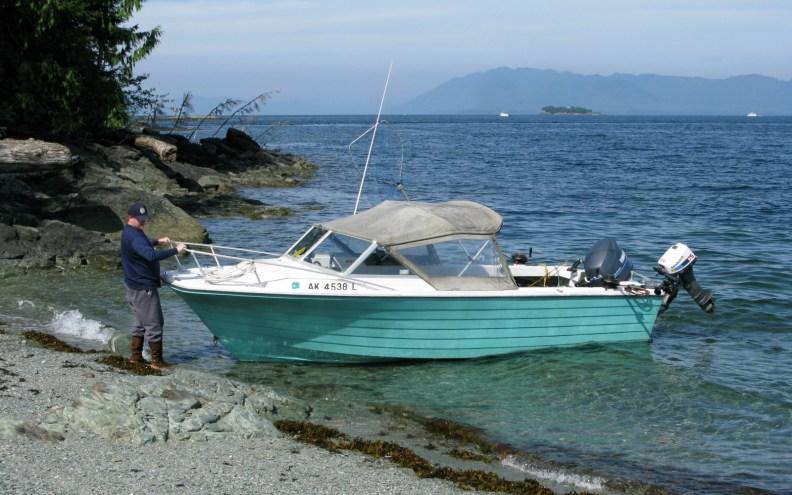 old beater boat Ketchikan