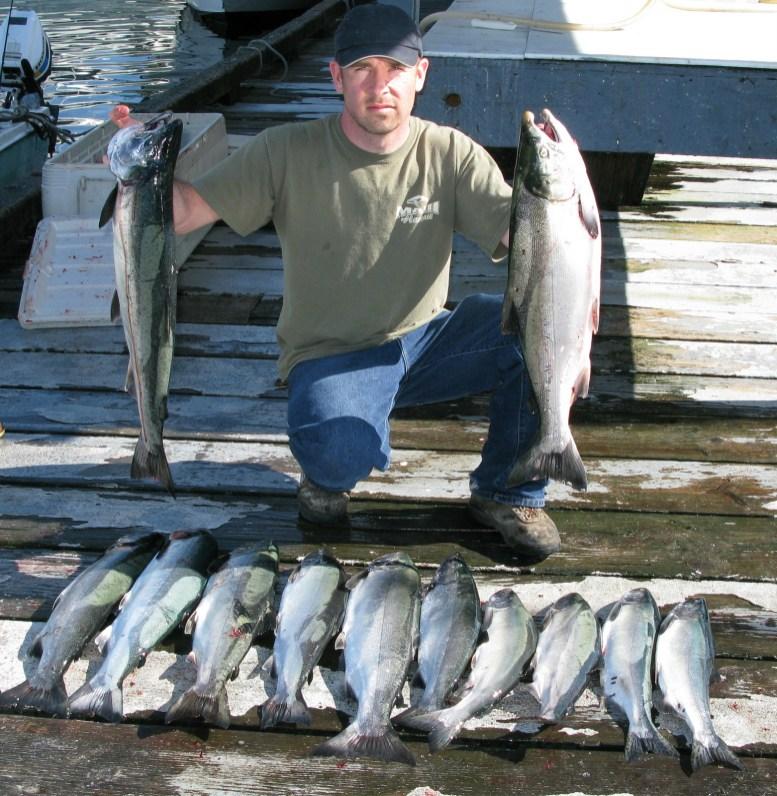 coho salmon Ketchikan