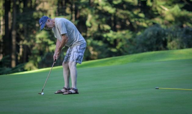 seahawk fan golfing