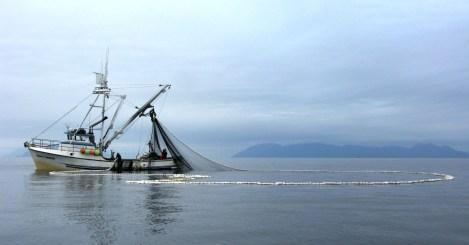 trawler in Ketchikan off Gravina