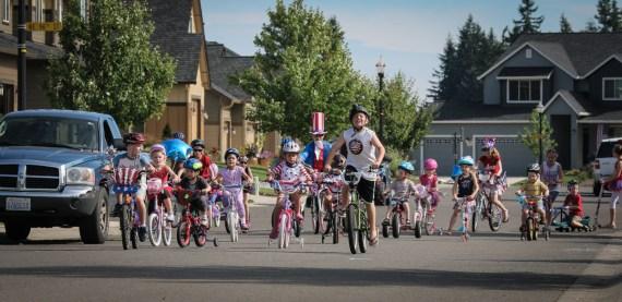 kids bike race