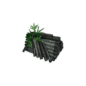 tas de charbon de bambou