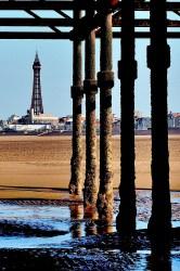 Tower through pier