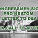 AKA Calls on Kratom Community to Encourage Representatives to Support Pocan/Lobiondo Letter