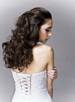 why wedding hairstyles for long curly hair are in vogue my bride hair