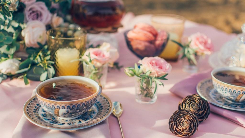 Popołudniowej herbaty filiżanka