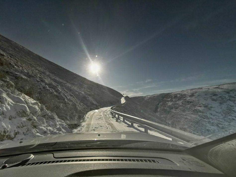 Jedna z najwyżej położonych dróg w Walii