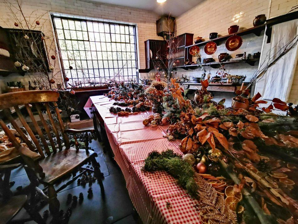 bajkowe święta w Tatton Park - kuchnia pełna skarbów