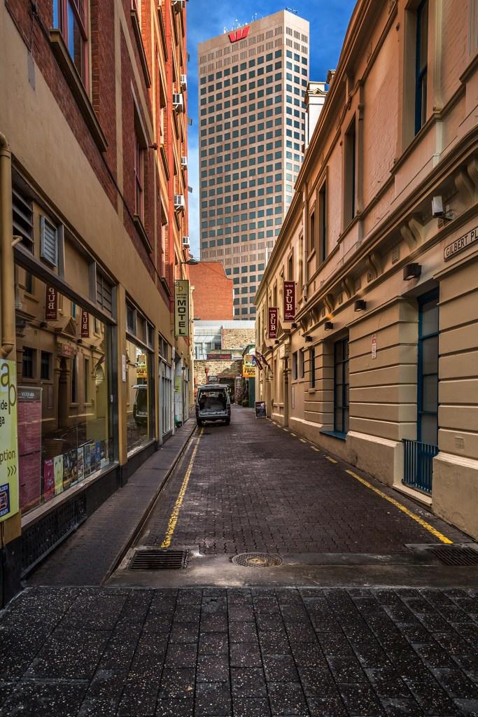 uliczki centrum Adelaide