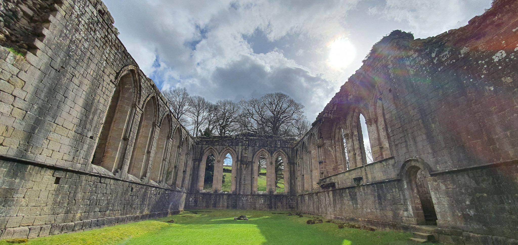 Niesamowite ruiny z Yorkshire