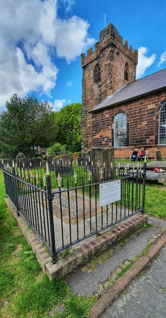 Historia pewnego olbrzyma - grób Johna Middleton z Hale