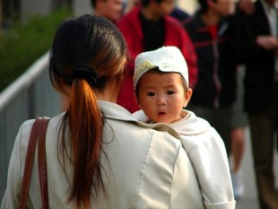 Chinese Mom and Child_MyBrownBaby.com