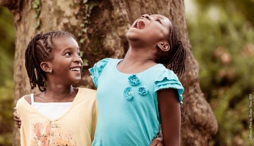 African American Best Friends_Little Girls