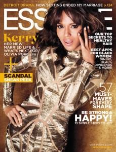 Kerry Washington Essence Cover