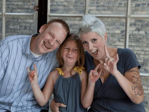 Heather and Family Goofy