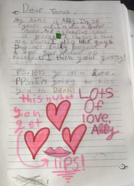 Catfish Love Letter