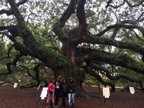 Family at The Angel Tree Johns Island