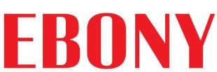 EBONY logo red